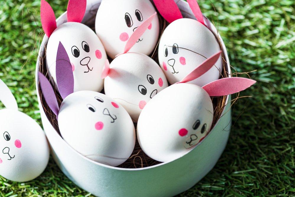 Veľkonočné vajíčka s uškami