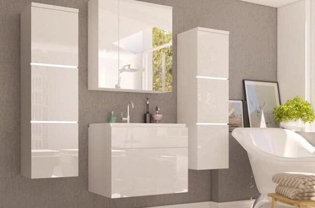 Kúpeľňová zostava Mason biela