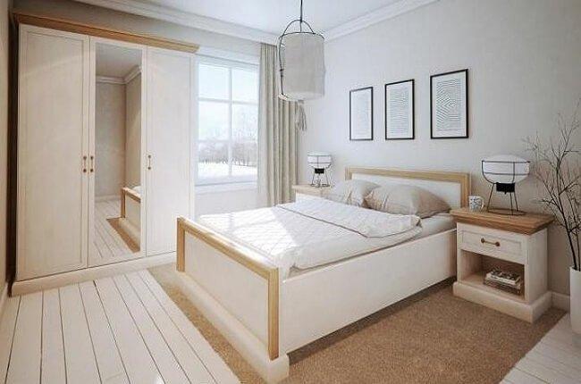 Drevená posteľ Royal