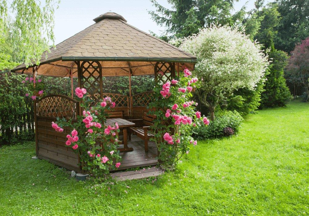 Altánok na záhrade