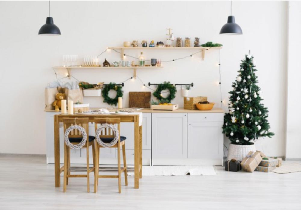 Vianočné jedálenské stoličky