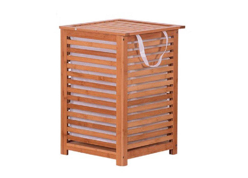 Bambusový kôš na prádlo Basket