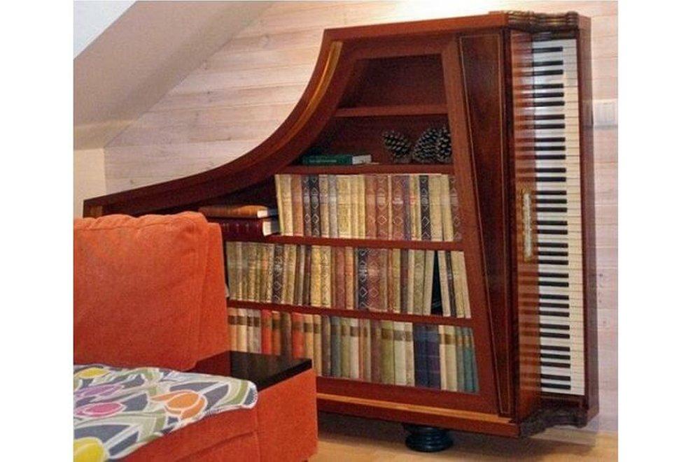 Piano ako knižnica