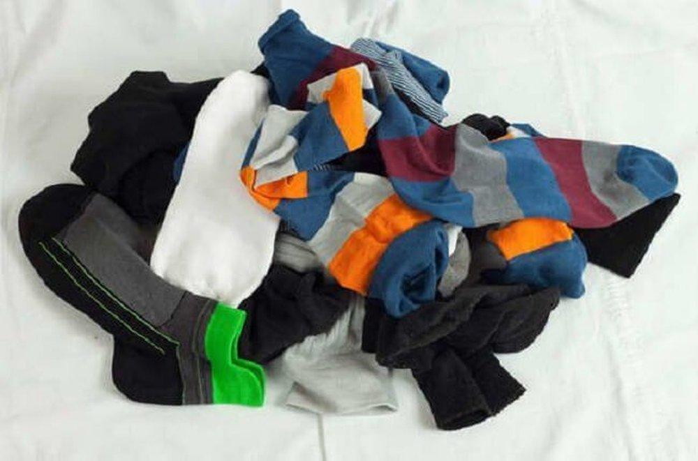 Régi zokni