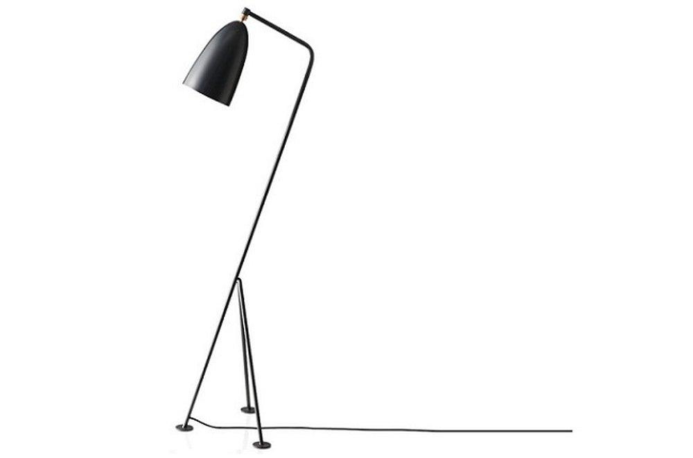 Lampa Cinda Typ 25 sivá