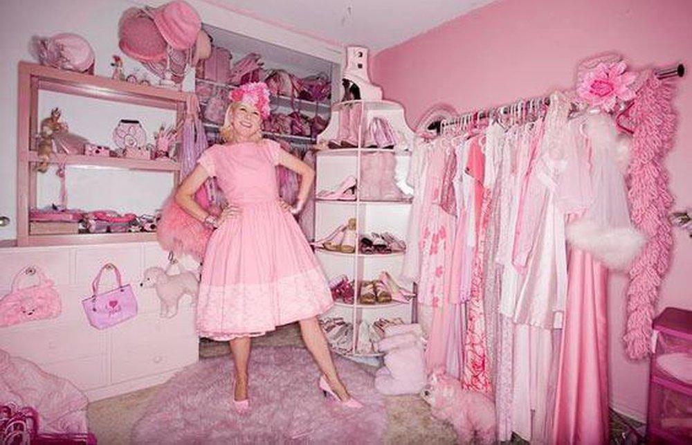 Ružová Lady z Hollywoodu,
