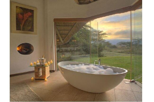 Kúpeľňa s oknom