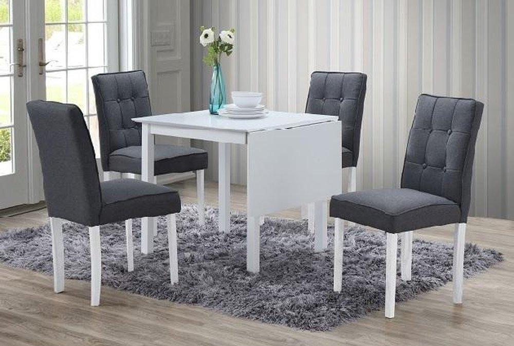 Rozkladací stôl Bjork, set 1+4