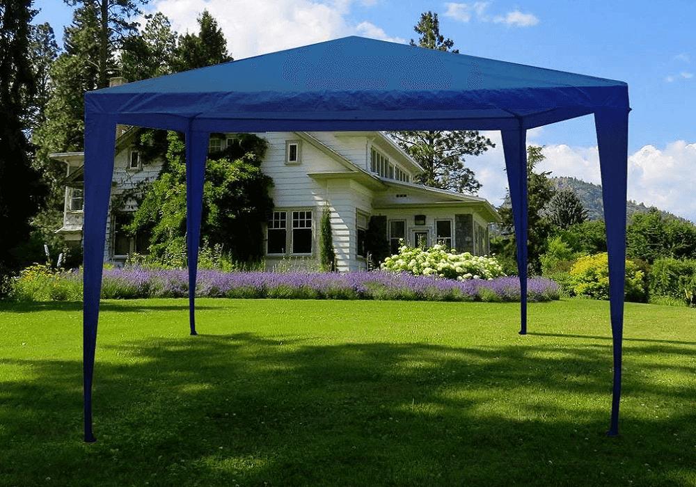 Záhradný pavilón Gotan modrý