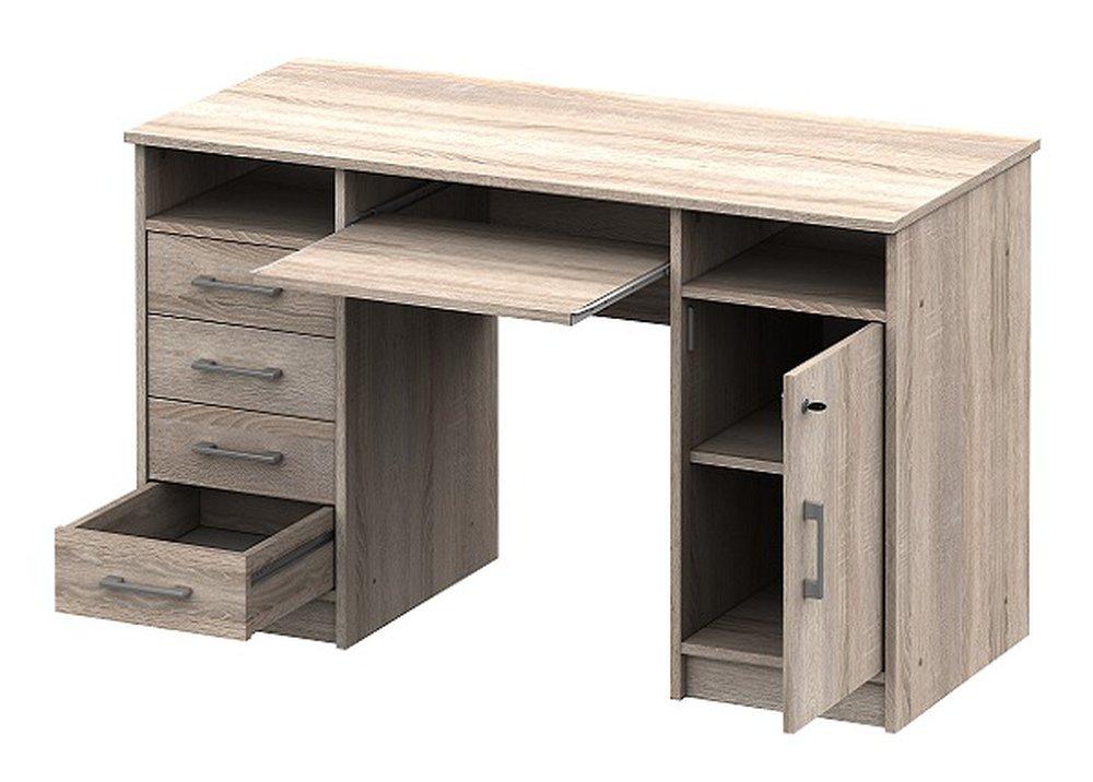 Písací stôl B9 v prevedení dub sonoma