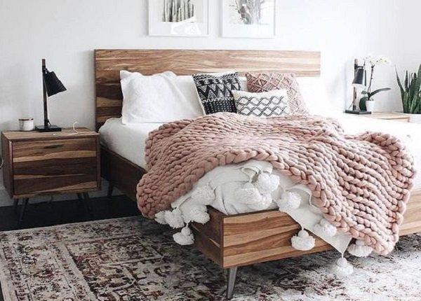 Teplá bielizeň na posteľ