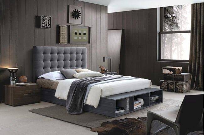 Čalúnená manželská posteľ Terka