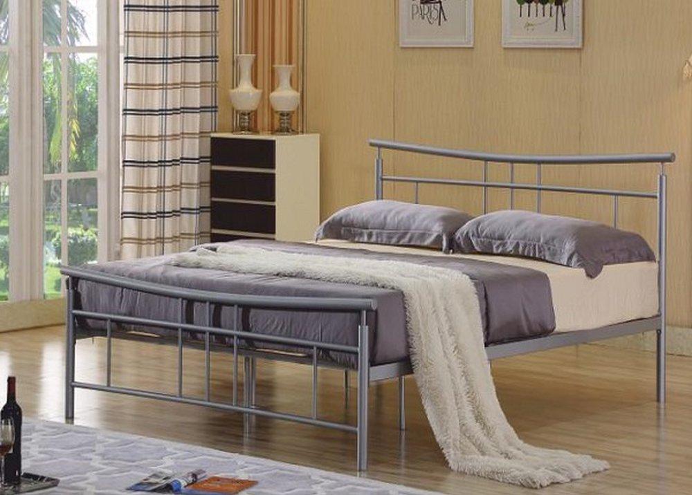Romantická kovová posteľ Dorado