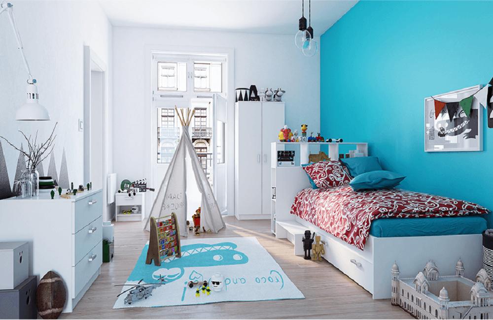 Detstká izba Alexia v štýle Montessori