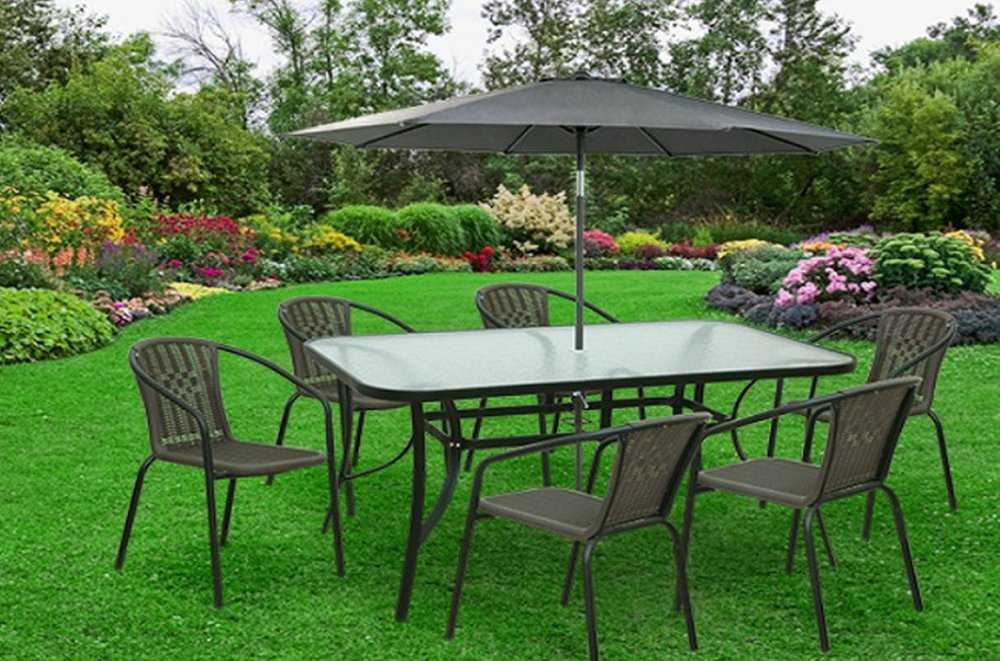 Kovový stôl do záhrady Paster
