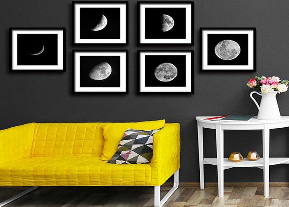 Sada obrazov Mesiac