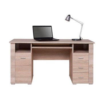 PC stôl typ 22, dub sonoma, GRAND