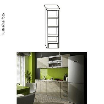 Kuchynská policová skrinka, biela, IRYS D3P-20