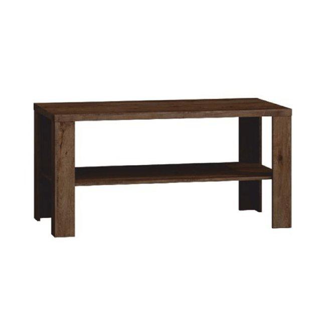 Konferenčný stolík, dub lefkas, TEDY TYP T13, rozbalený tovar