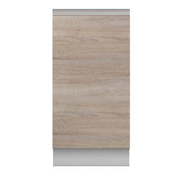 Dolná skrinka D 40, dub sonoma/biela , LINE