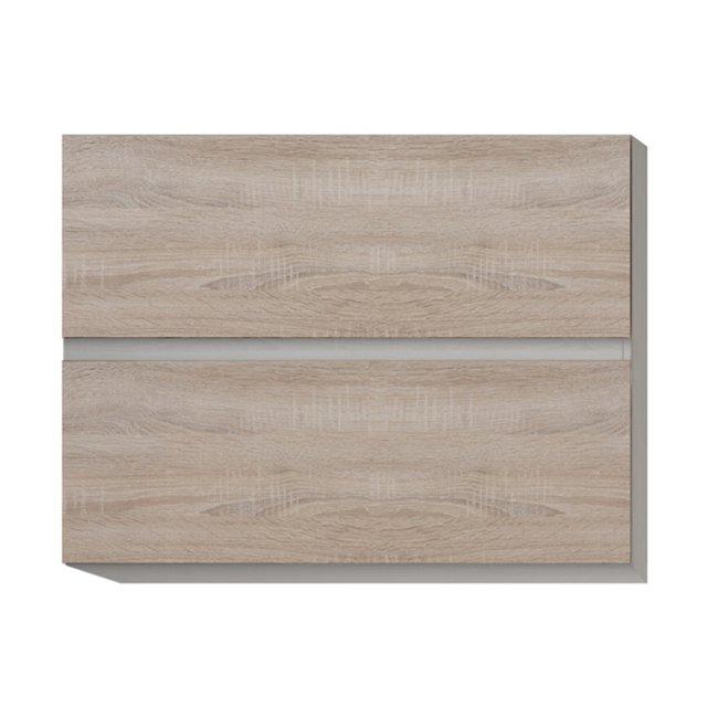 Horná skrinka G 80 U, dub sonoma/biela , LINE