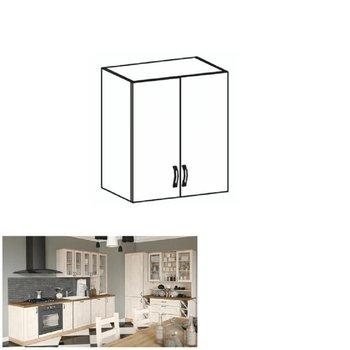 Horná skrinka, biela/sosna nordická, ROYAL G60