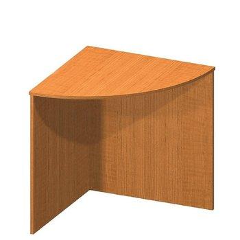 Stôl rohový oblúkový, čerešňa, TEMPO ASISTENT NEW 024