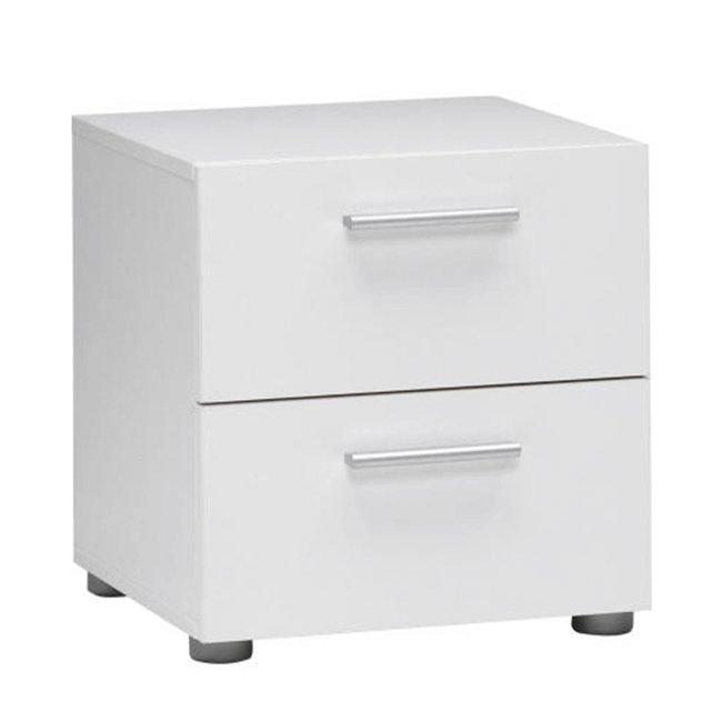 Nočný stolík, biely, PEPE 70070