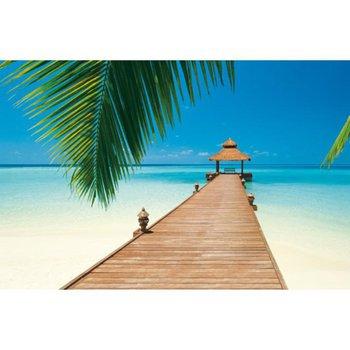 Fototapeta, 8 časti, pláž v karibiku