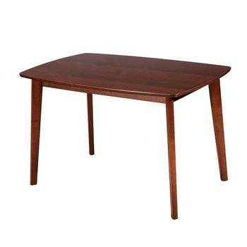 Jedálenský stôl, 120x80, orech, ROSPAN