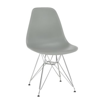 Stolička, sivá, ANISA NEW