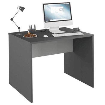 PC stôl, grafit/biela, RIOMA NEW TYP 12