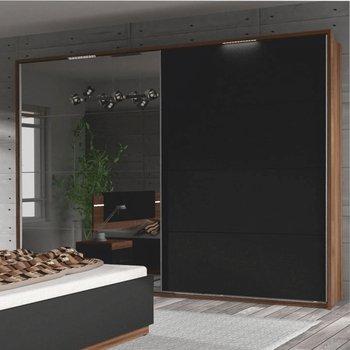 Drevený rám s LED osvetlením ku skrini DEGAS