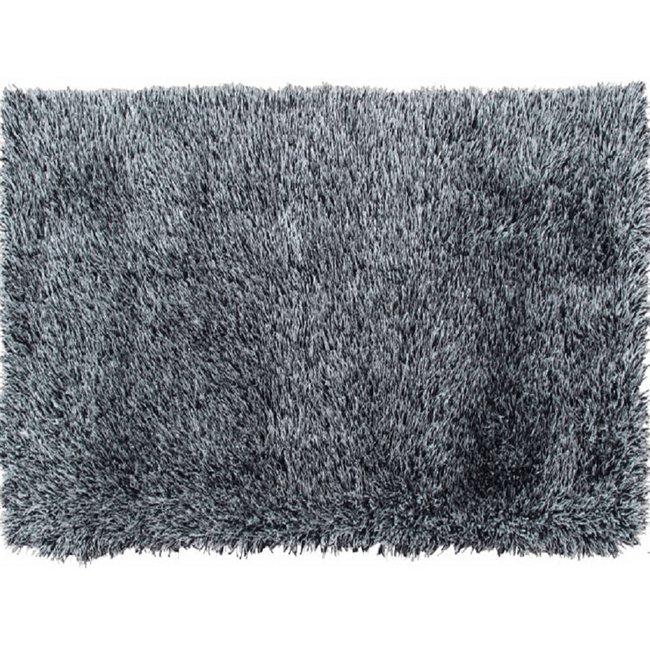 Koberec, bielo-čierna, 140x200, VILAN