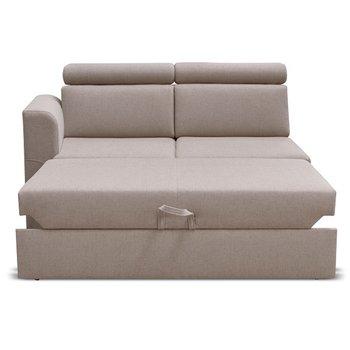 Otoman 2 1B ZF k luxusnej sedacej súprave, béžová, ľavý, MARIETA