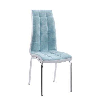 Jedálenská stolička, mentolová/chróm, GERDA NEW