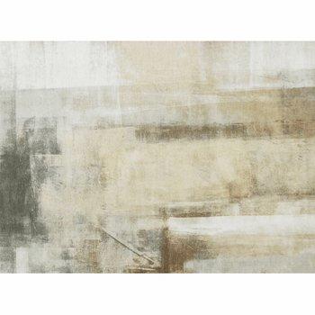 Koberec, hnedá/sivá, 80x150, ESMARINA TYP 1