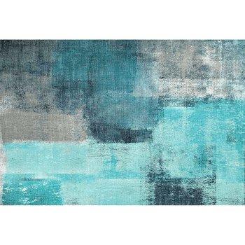 Koberec, modrá/sivá, 160x230, ESMARINA TYP 2