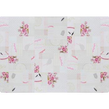 Koberec, vzor romantic, viacfarebný, 120x180, ADELINE
