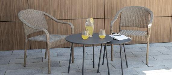 Záhradné stoličky, kreslá - Plast