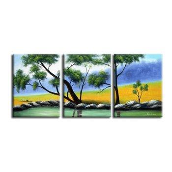 Obraz, ručne maľovaný, 150x60 cm, 21582