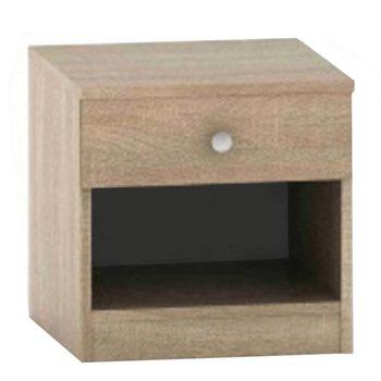 Nočný stolík so šuplíkom, dub sonoma, BETTY 2 BE02-010-00