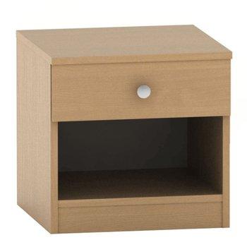 Nočný stolík so šuplíkom, buk, BETTY 2 BE02-010-00