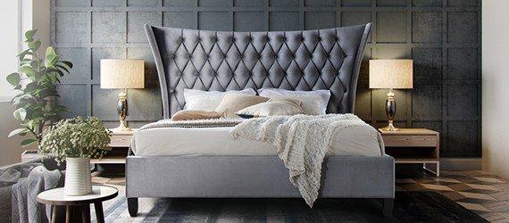 Čalúnené postele 120x200