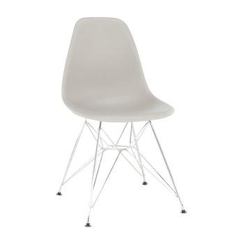 Stolička, teplá sivá, ANISA 2 NEW