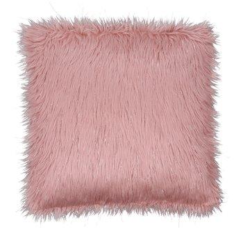Vankúš, ružová/zlatoružová, 45x45, FOXA TYP 3