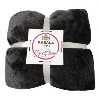 Obojstranná deka, čierna, 127x152, KASALA TYP 3