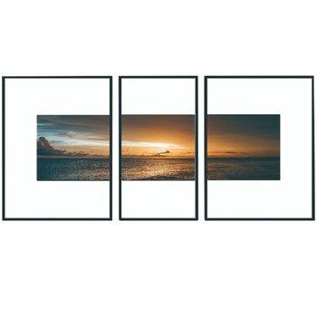 Zasklený tlačený obraz, viacfarebný, DX TYP 13 SUNSET