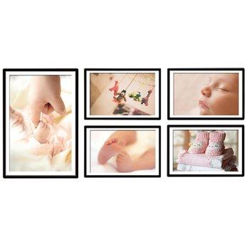 Zasklený tlačený obraz, motív dieťa, DX TYP 18 BABY