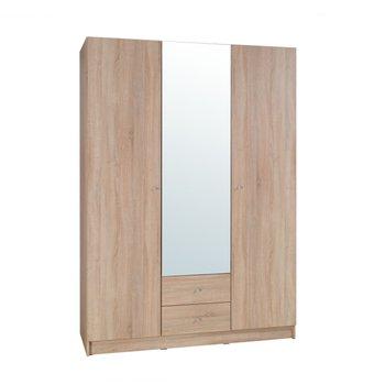 3-dverová skriňa, dub sonoma, MEXIM